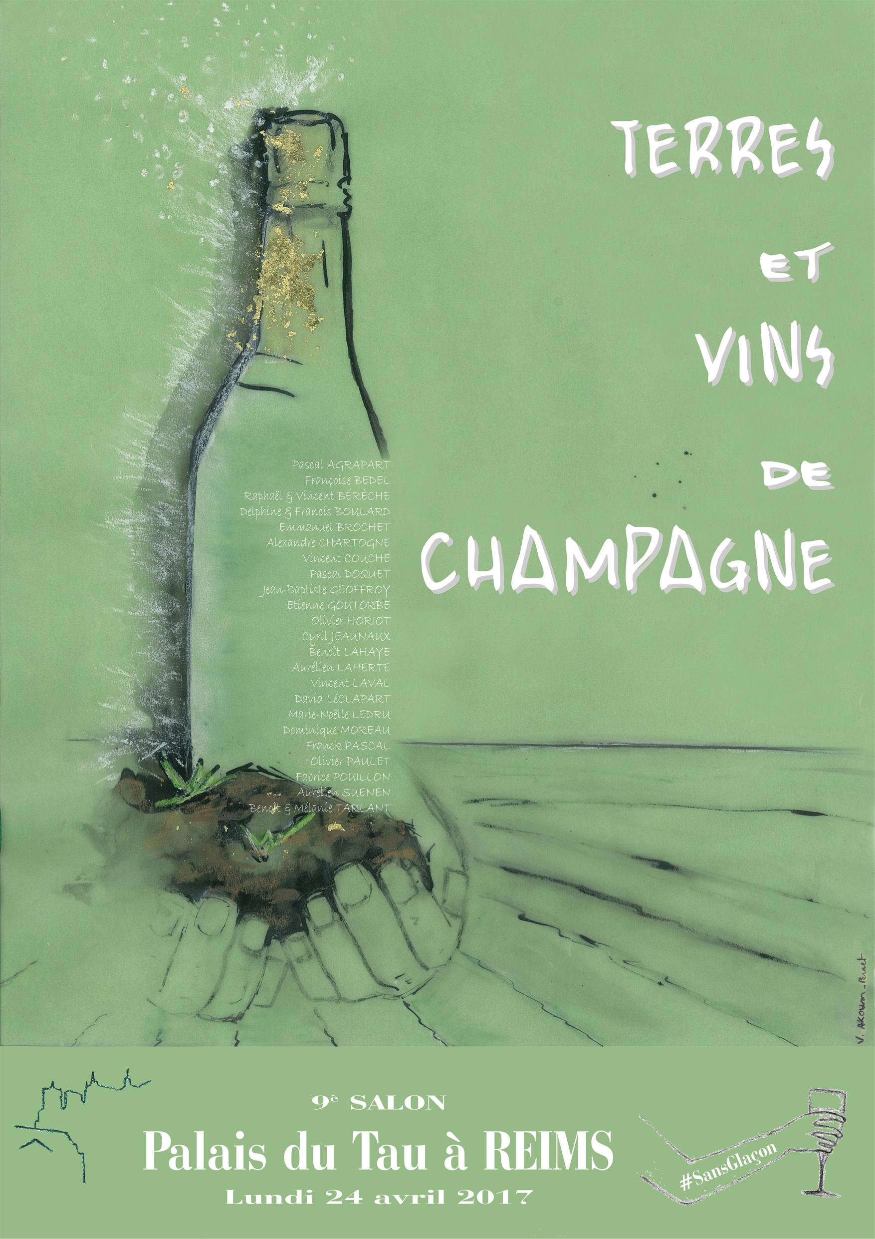 Terres et vins de champagne for Salon du vin reims 2017